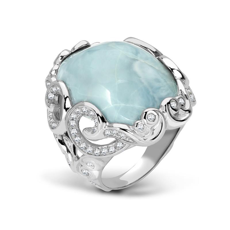 Yemanja Larimar Ring
