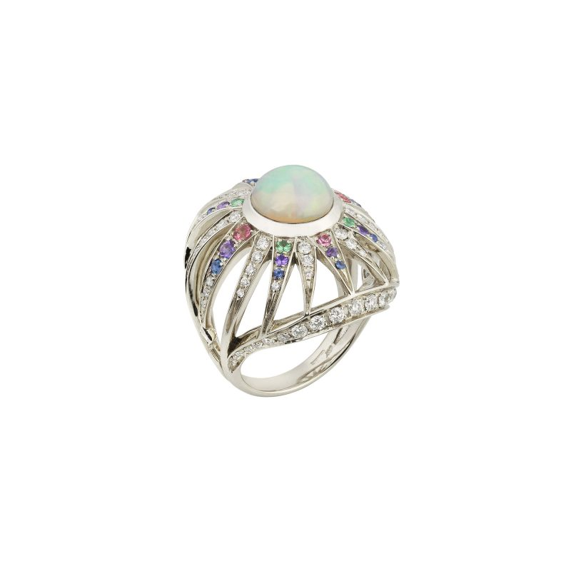 Aruna Ring White C