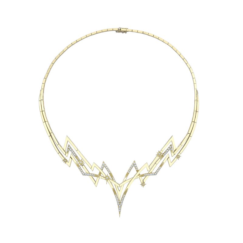 Electra Necklace Yellow A copy