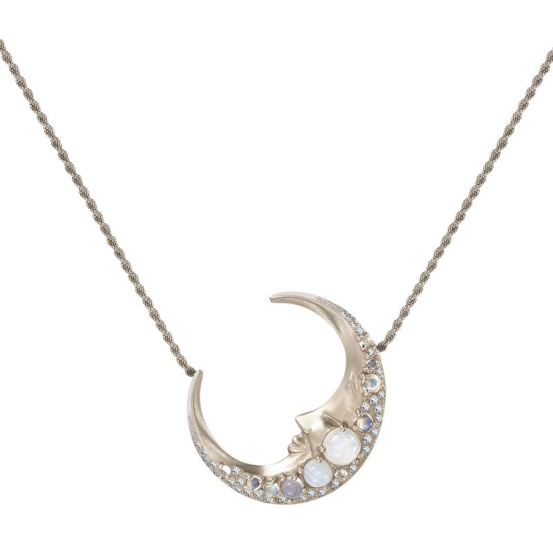 Lunoor Necklace White A copy