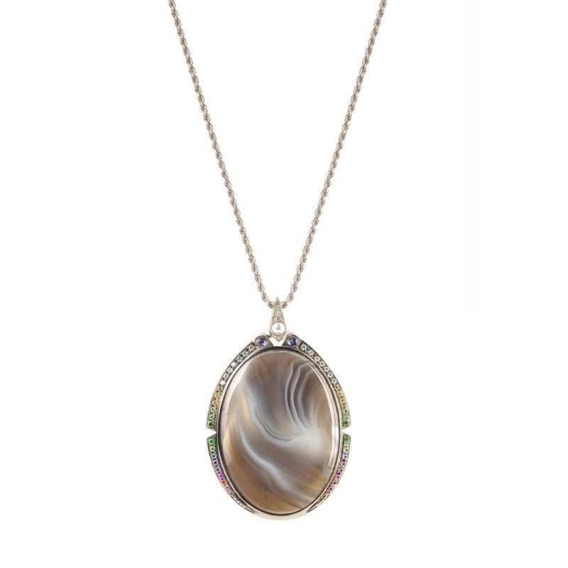 Terra Necklace White A