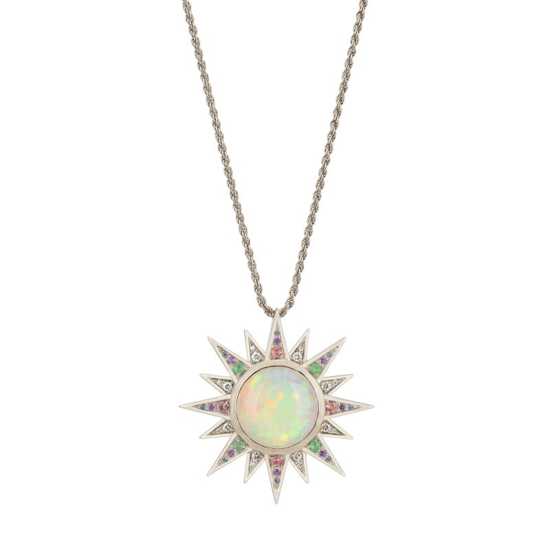 Aruna Necklace White A
